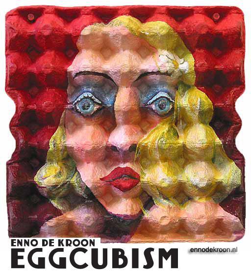 Eggcubism | Enno de Kroon