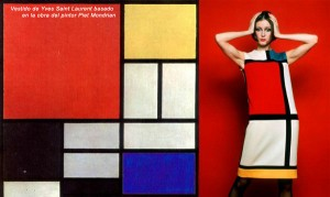 Yves Saint Laurent-  Mondrian dress