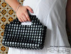 Bolso teclado de Joao Sabino