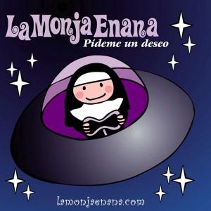 La Monja Enana. Carátula frontal del disco PÍDEME UN DESEO