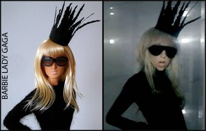 Barbie al estilo Lady Gaga