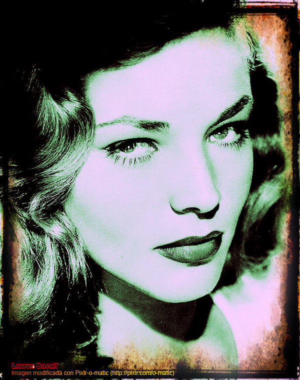 o-matic, Lauren Bacall