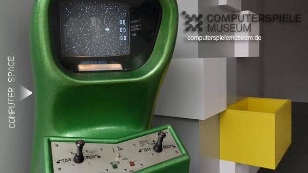 Computer Space, la primera máquina arcade fabricada en serie.