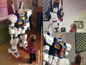 7FT Gundam – Ultimate Papercraft, Taras Lesko