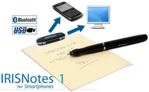 Iris Notes, envíe sus anotaciones a su smartphone