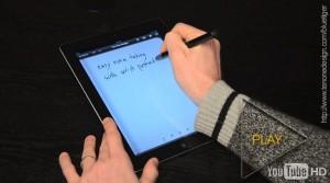 "La primera ""pluma estilográfica"" para iPad"