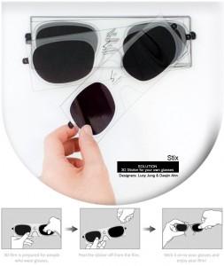 Stix transforma tus gafas normales en otras para ver pelis en 3D