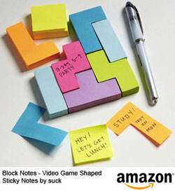 Tetris notes