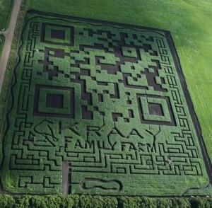 El código QR DE LA familia kraay, asombroso, record Guinness