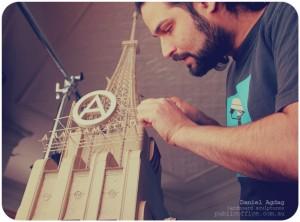 Daniel Agdag :: cardboard sculptures