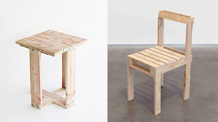 Muebles hechos con palets tecnoartes net for Muebles de sala hechos con palets