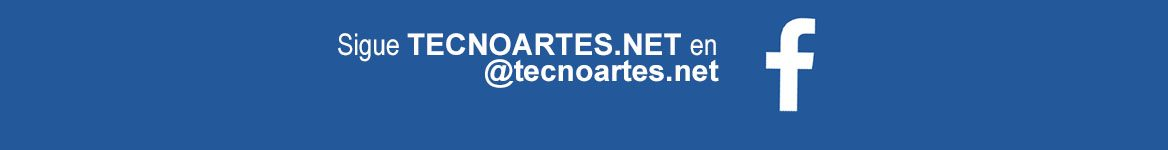 Sigue TECNOARTES.NET en Facebook