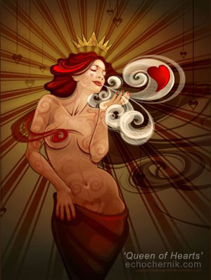 'Queen Of Hearts' | Echo Chernik