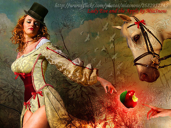 Lady Eve and the Apple by MiaSnow
