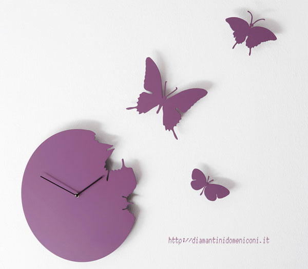 Fly Away Butterfly Clock - SusannePhilippson
