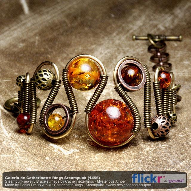 joyas diseñadas con el más puro estilo steampunk.