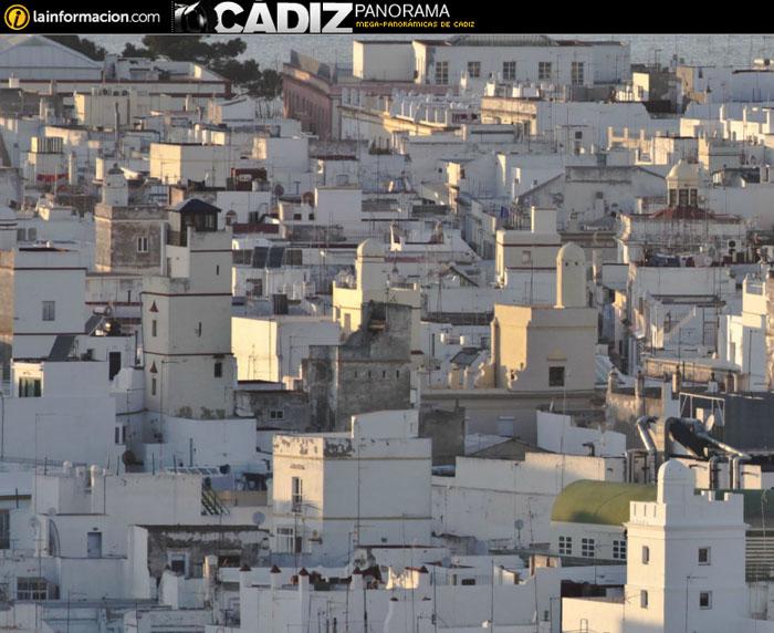 Cádiz, la foto panorámica de la ciudad.