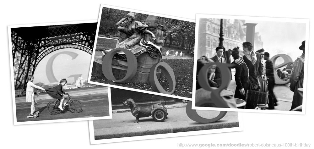 """100 años del nacimiento de Robert Doisneau, autor de """"El beso"""", la fotografía más vendida de la historia."""