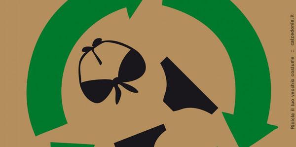 Calzedonia se suma a la eco-sostenibilidad. Te invita a que recicles tu antiguo traje de baño.