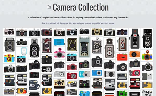 colleción de cámaras