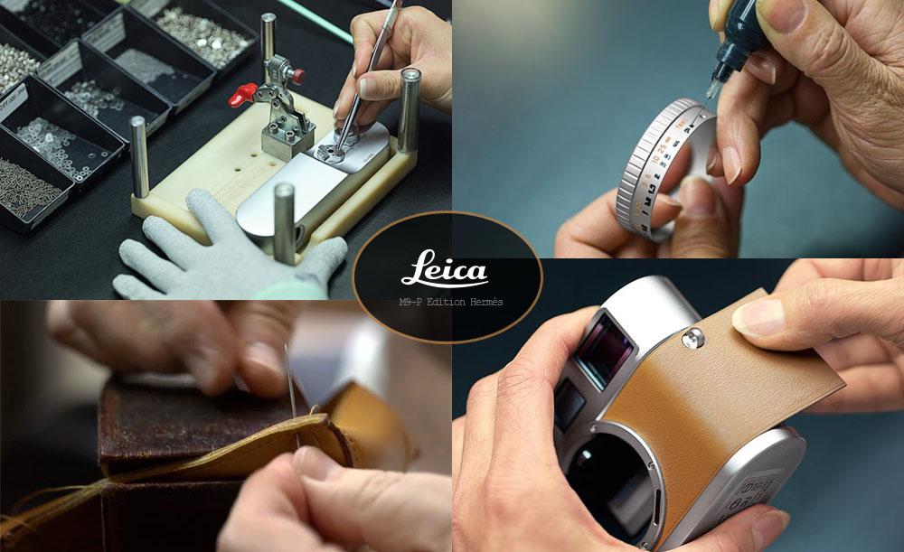Leica hecha a mano
