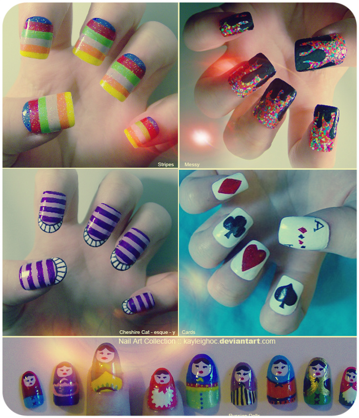 Nail Art Collection :: kayleighoc.deviantart.com