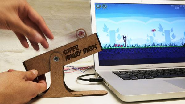 Mando USB Super Angry Birds