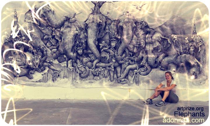 """""""Elefantes"""" Adonna Khare"""