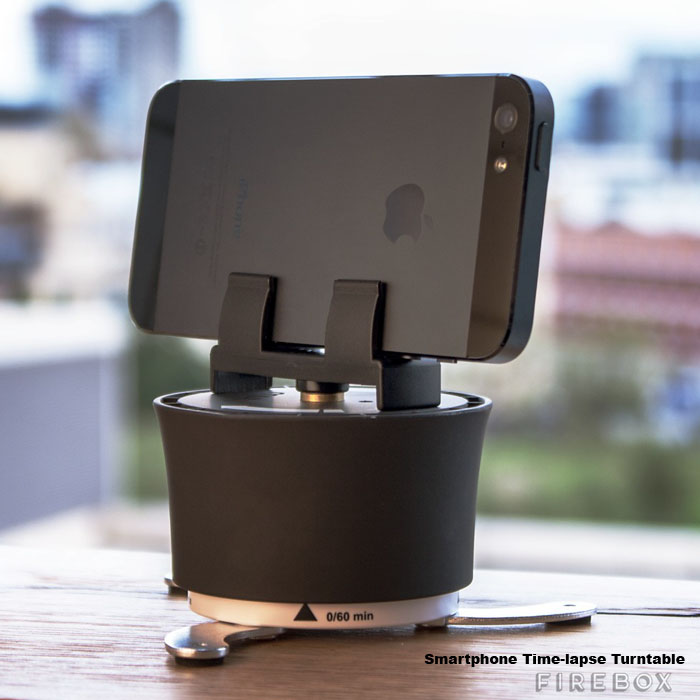 Smartphone Time-lapse Turntable Totally Pan-tastic