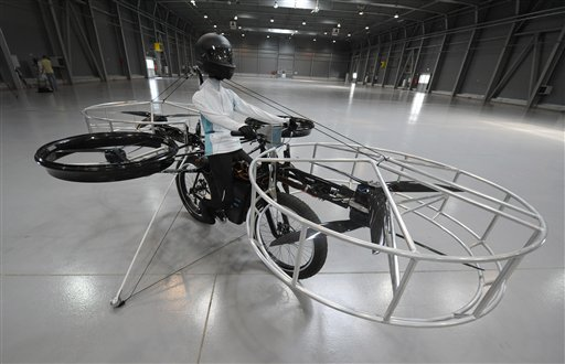 Czech Flying Bike