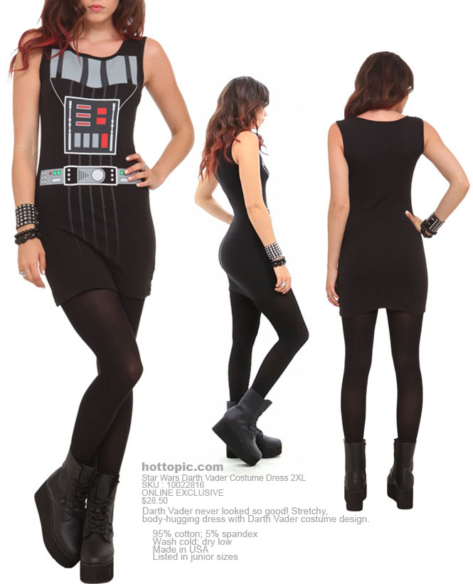 Darth Vader vestido disfraz