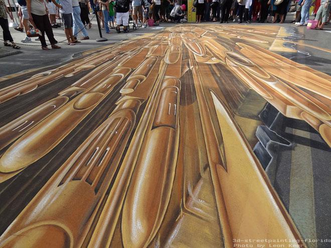 lego street art 3d