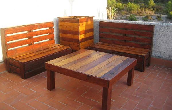 Muebles hechos con palets tecnoartes net for Muebles hechos con melamina