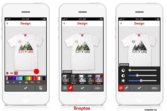 daf80fa9b App móvil para diseño de camisetas – TECNOARTES.NET