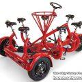 Un triciclo para 7 personas