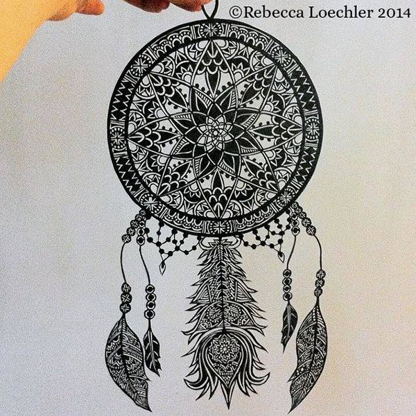 Dibujos de mandalas tecnoartes net for Mandalas de decoracion para pared