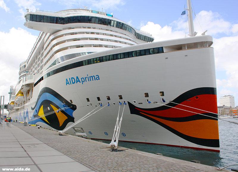 AIDAprima crucero