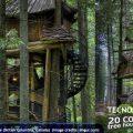 20 casas famosas en los árboles