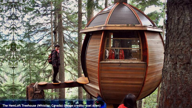 The HemLoft Treehouse (Whistler, Canada)