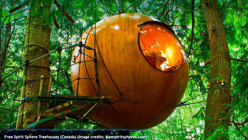 Free Spirit Sphere Treehouses (Canada)
