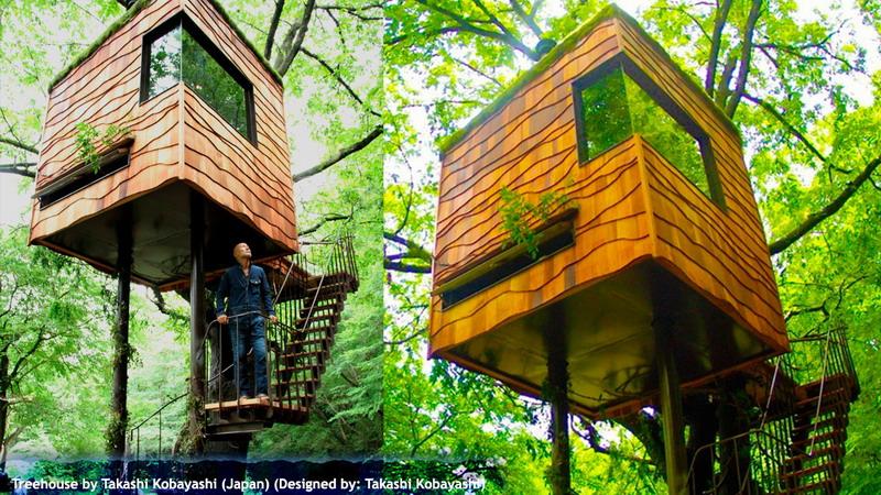 Treehouse by Takashi Kobayashi (Japan)
