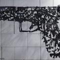 Arte fragmentado y colgado