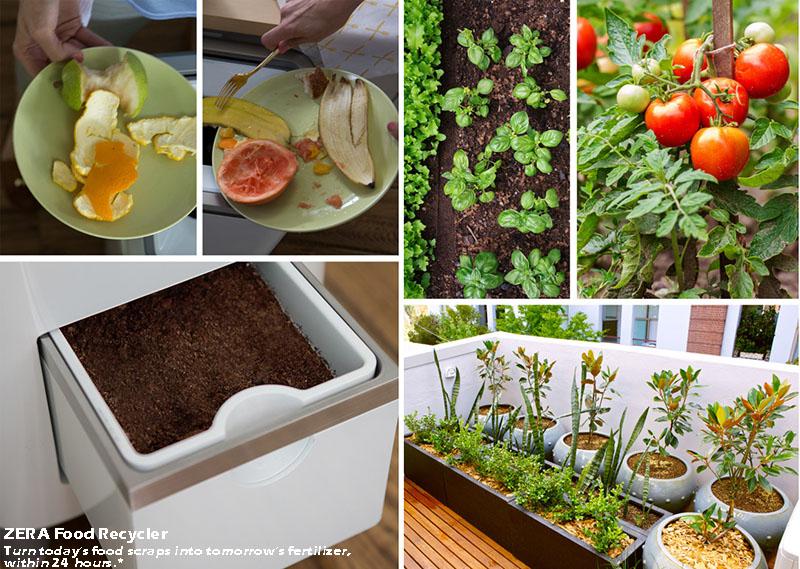 Fertilizante a partir de alimentos.