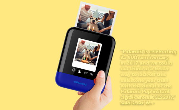 Polaroid Pop hace fotos impresas, digitales y videos HD
