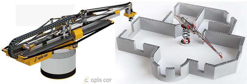 Casas del futuro hechas con impresoras 3D