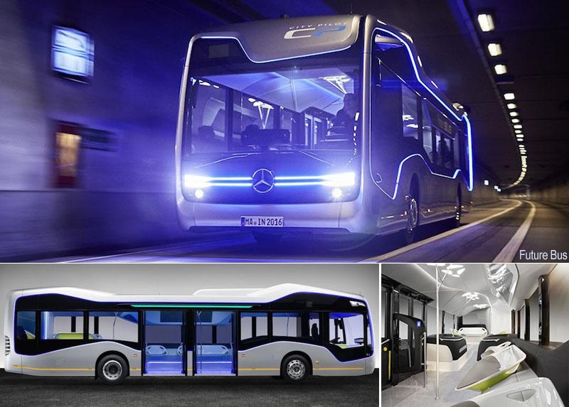 Autobus del futuro ya está aquí