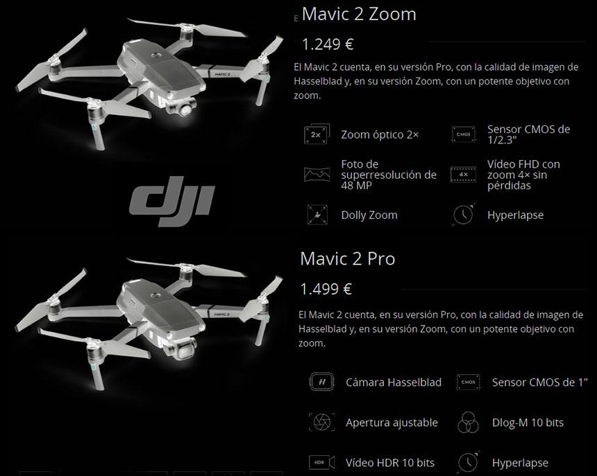 Drones buenos.