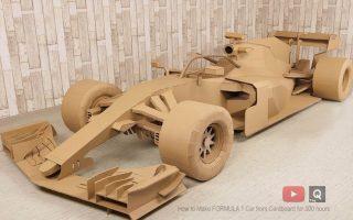 F1 de cartón