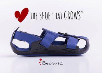 Zapatos que crecen